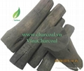 New long burned time high quality Solid eucalyptus hard wood charcoal grill  3