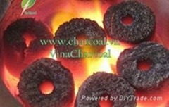 High quality good price coconut shell charcoal briquettes for BBQ