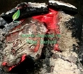 Smokeless sparkless high quality hardwood charcoa grill 5