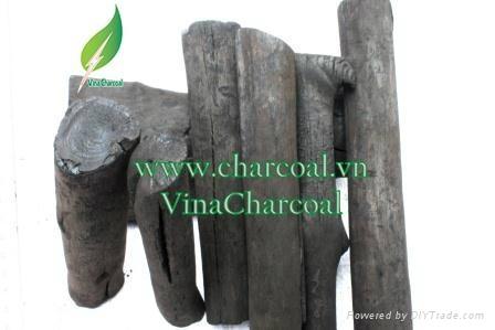 Non toxic 100% natural mangrove wood charcoal for hookah shisha 2
