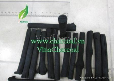 Non toxic 100% natural mangrove wood charcoal for hookah shisha 3