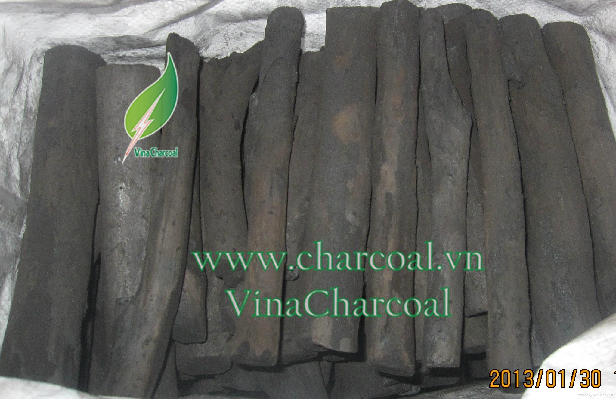 Good price long burned time quality wood charcoal pomelo charcoal 5