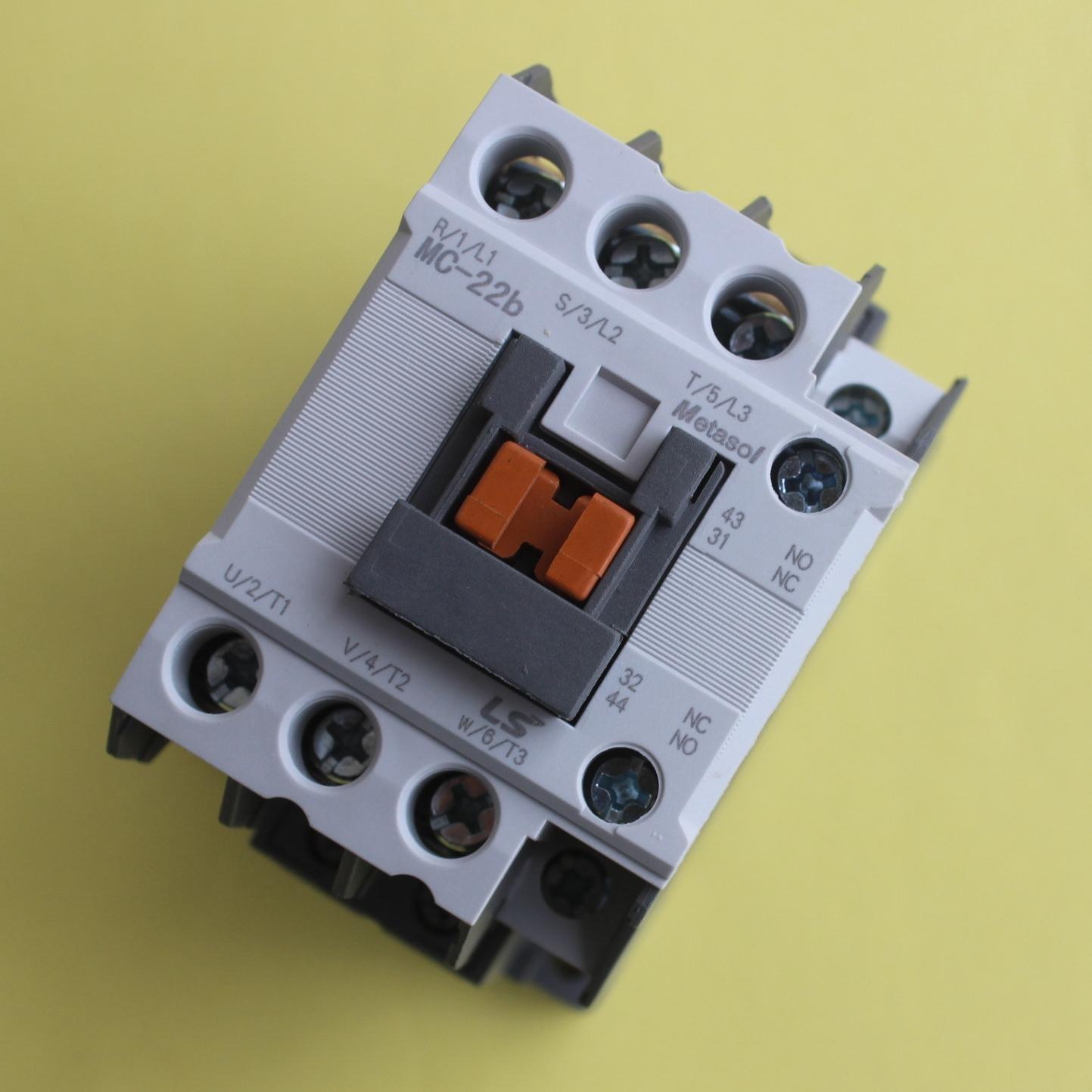 metasol magnetic contactor mc09 12 22 32 40 50 65 85 100