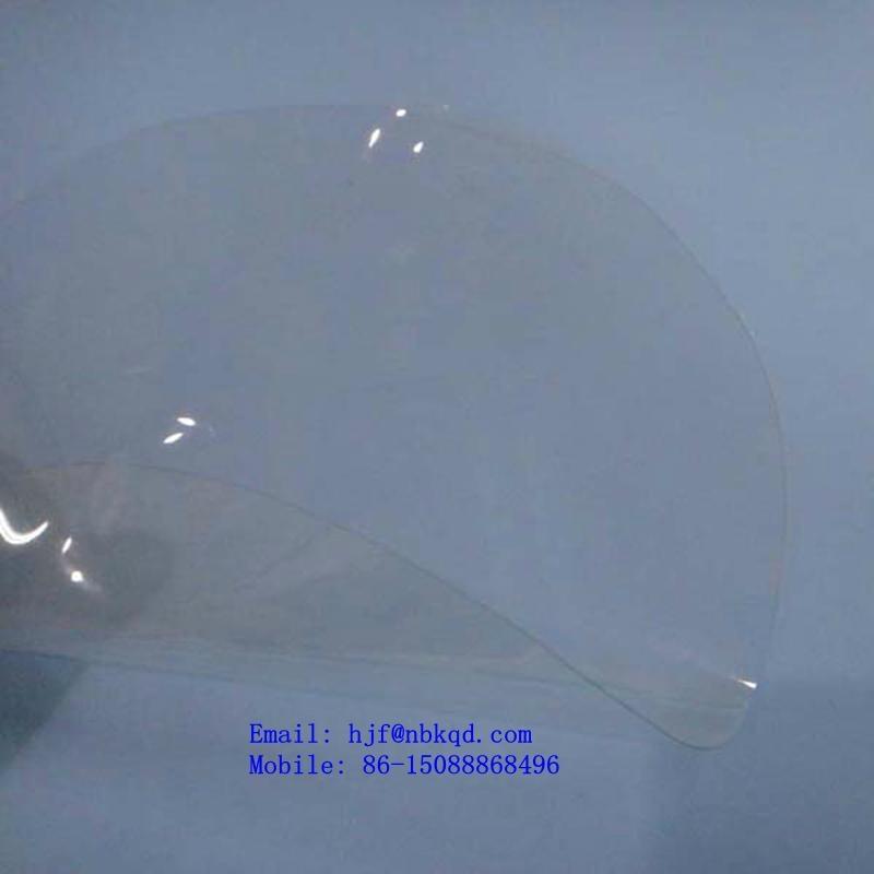 0.18mm Antistatic Flame Retardant PVC Transparent Sheet for Tent Window 2
