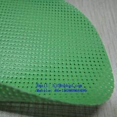 400克PVC浸網格布 高強度三經三緯滌綸網布