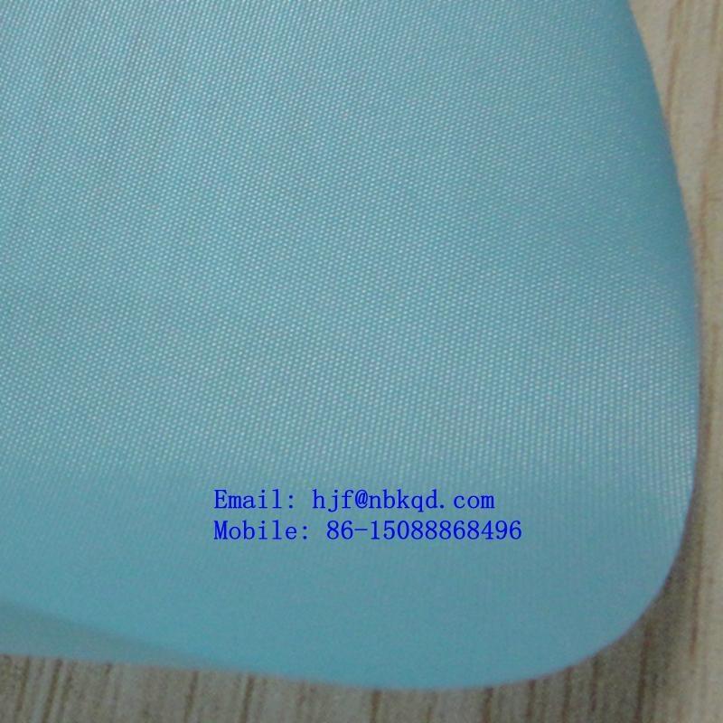 出口美國ISO22196的PU塗層尼絲紡70D190T 1