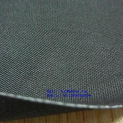 Fireproof Black Neoprene Rubber Fabric