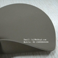 Fire Resistant Coyote Hypalon Fabric Sheet for Military 1.2mm 1