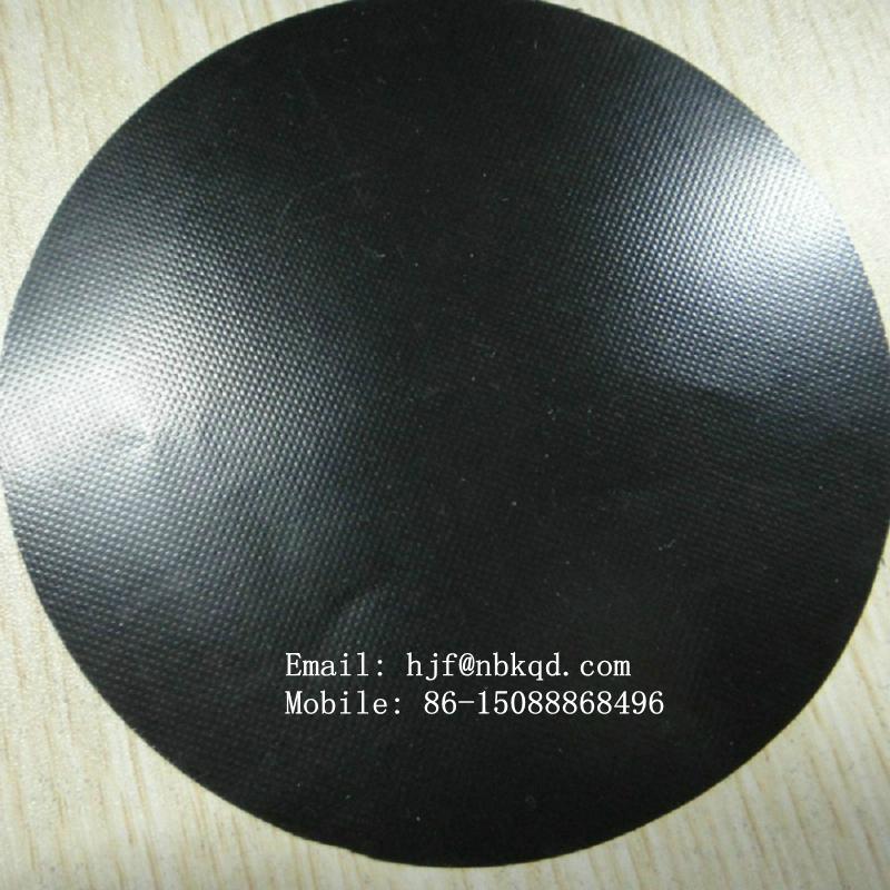 Low Stretch Neoprene Rubber Coated Nylon Fabric 2