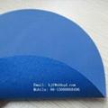 抗撕裂蓝色PVC复合人造棉布浮
