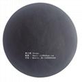 0.45mm可热压可高频焊接黑色丁晴橡胶夹丝布 2
