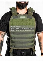 0.6MM军绿色海珀龙战术背心布料