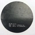 0.5mm黑色阻燃防火玻纖布雙面PVC膠 B1阻燃 2