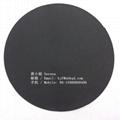 0.5mm黑色阻燃防火玻纖布雙面PVC膠 B1阻燃 4