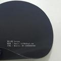 雙面霧面海帕龍橡膠布1.0mm黑色 箱包底布 2