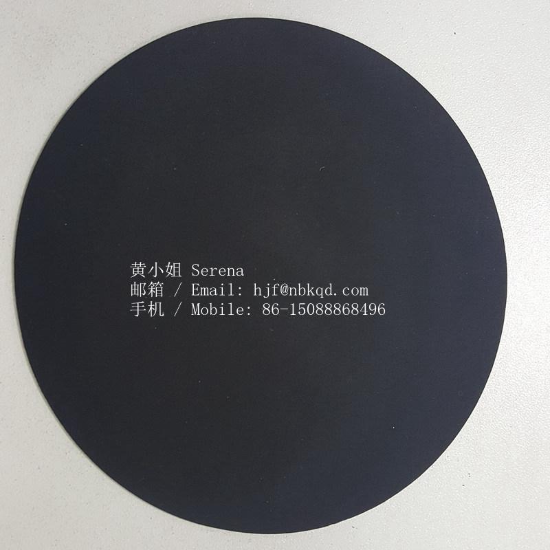 雙面霧面海帕龍橡膠布1.0mm黑色 箱包底布 3