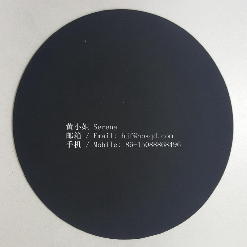 雙面霧面海帕龍橡膠布1.0mm黑色 箱包底布 4