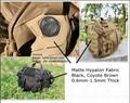 1.0mm Black Matte Hypalon Fabric for