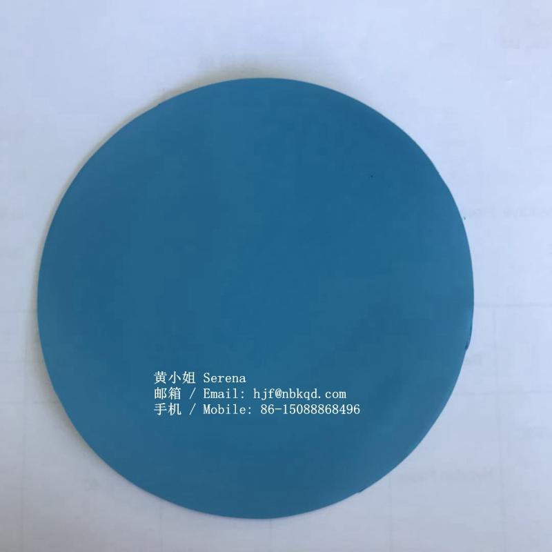 0.6mm藍色丁腈橡膠塗層芳綸用於工業手套 2