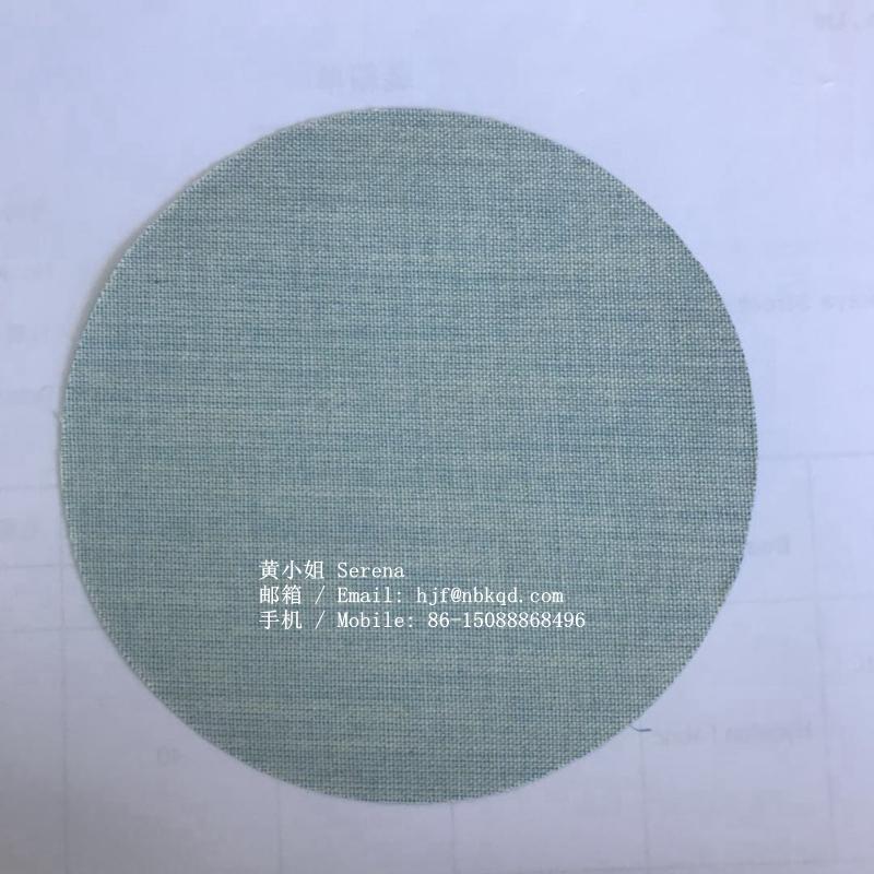 0.6mm藍色丁腈橡膠塗層芳綸用於工業手套 3