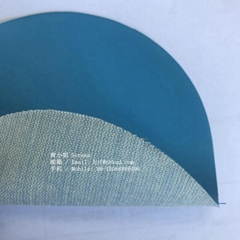 0.6mm藍色丁腈橡膠塗層芳綸用於工業手套