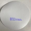 0.6mm生物相容性白色PVC夾網布料1000D 3
