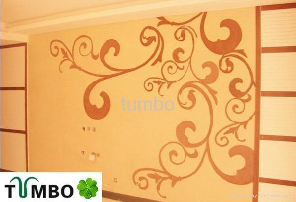 Bulk wall decoration Europe character natural fiber silk plaster wallpaper OEM 2