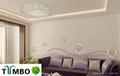Bulk wall decoration Europe character natural fiber silk plaster wallpaper OEM 3