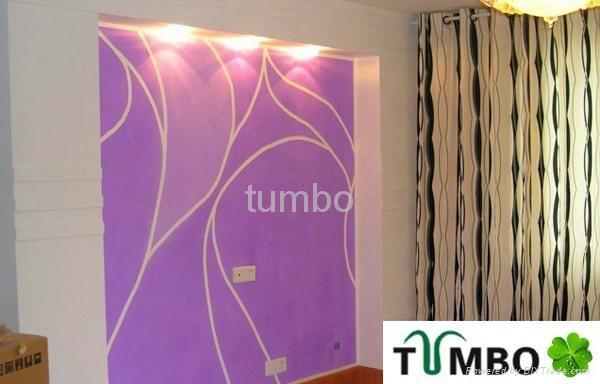Bulk wall decoration Europe character natural fiber silk plaster wallpaper OEM 4