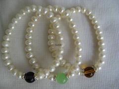Wholesale fashion pearl jewelry Chinese loose pearl genuine freshwater pearl OEM