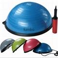 Wholesale customized Eco-friendly PVC yoga ball explosion-proof yoga ball forOEM 3