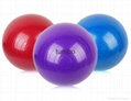 Wholesale customized Eco-friendly PVC yoga ball explosion-proof yoga ball forOEM 4