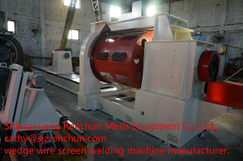 wedge wire screen machine 2