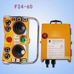 台湾禹鼎摇杆式工业无线遥控器F24-60