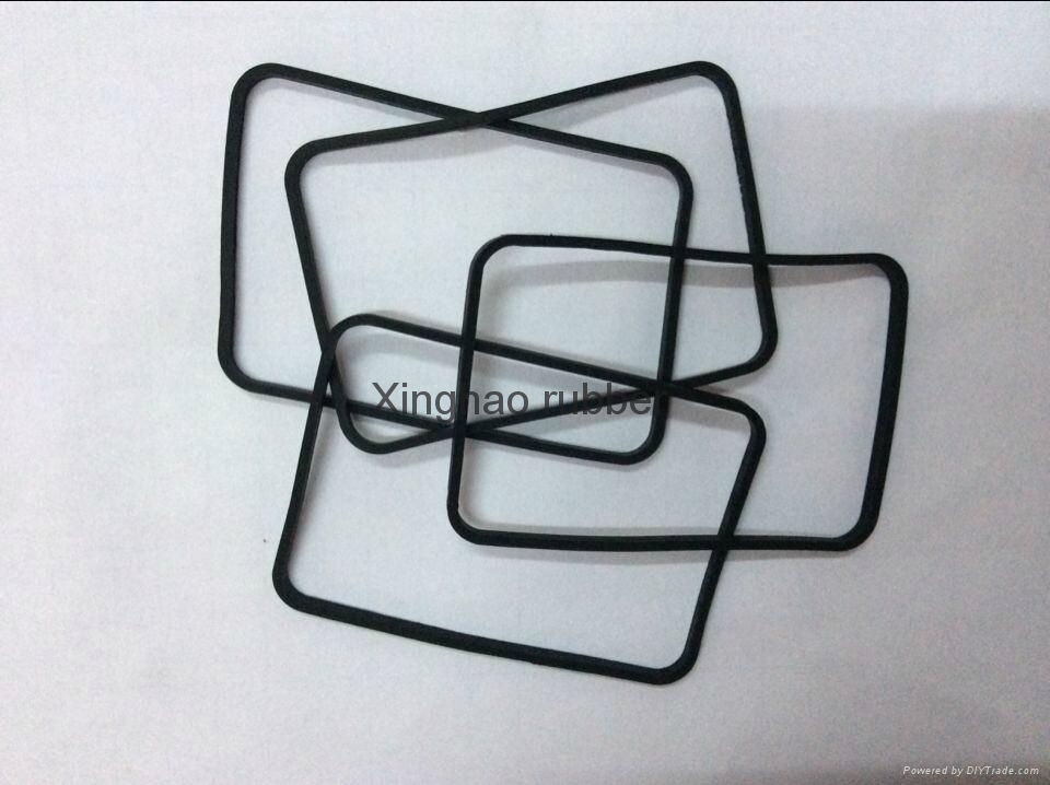 Industrial silicone rubber accessories 1