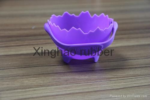 食品級硅膠提籃煮蛋器廚具用品 4