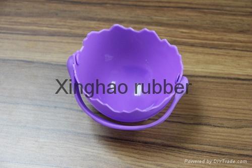 食品級硅膠提籃煮蛋器廚具用品 3
