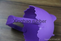silicone egg boiler with holder/silicone