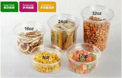 high quality plastic corn disposable transparen customized deil cup