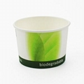 pla coated soup cup with CPLA lid