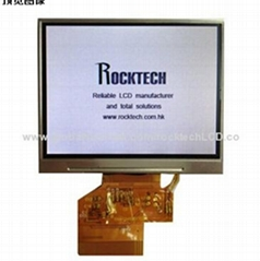 3.5-inch TFT LCD Module with Touch Panel, 320 x 240 Pixels Resolution