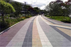 Paving Tile,Water Permeable Brick Tile,Environmental Ceramic Paver Tile