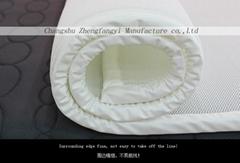 夏季午休用2cm 高彈透氣3D網眼布薄墊、床護墊