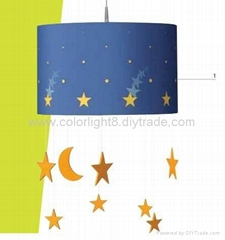 Novelty pendant lamps for children