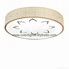 Top-class Led  carved flower ceiling lamp