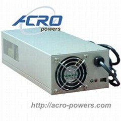 Lead-Acid Battery Charger  500W  Single Output  Built-in MCU