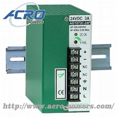 Lead-Acid Battery Charger  72W  Single Output  3-stage Control