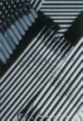 Heat-resistant steel welding electrodes