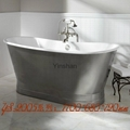 Massage cast iron bathtub 1