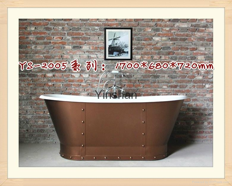 Massage cast iron bathtub 3